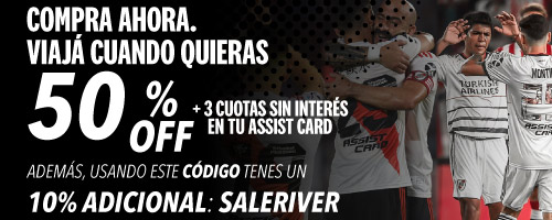 River Plate ASSIST CARD