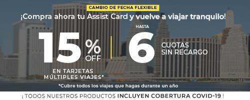 Assist Card Promo 15% OFF